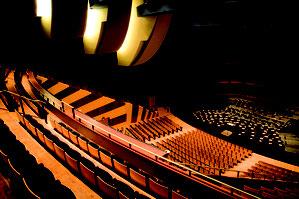 Auditorium der Opéra de Dijon - einer der besten Konzertsäle Europas