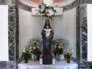 Gebetsraum im Mausoleum
