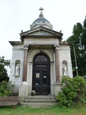 Das Mausoleum der Familie Pohl