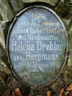 Eines der ältesten Gräber in Ebersdorf