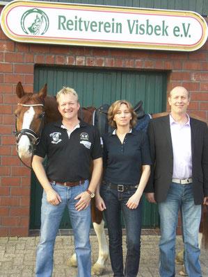 Markus(43), Astrid (48) und Hubertus (50)