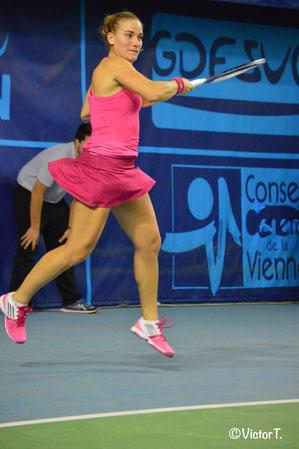Timea BABOS (HUN) 2ème joueuse qualifiée pour la finale de l'édition 2014