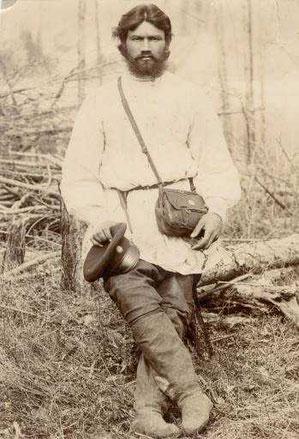 Урядник Расторгуев, член экспедиции.