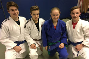 Nicolas Grandchamp, Justin Tremblay, Alyson Cloutier et Kenny Bellemare seront les représentants du Seikidokan aux prochains Championnats canadiens de judo, à Calgary.