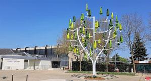 L'Arbre à vent installé à Vélizy-Villacoublay.