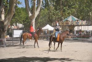 Cours monte espagnole (garrocha)