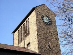 Turm der Christ-König-Kirche
