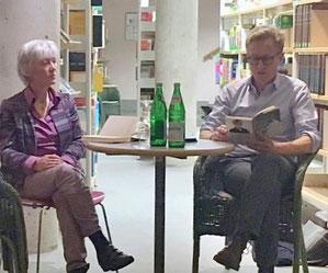 Christiane Kuby und Peter Terrin in Jülich. (Foto von U. Pelzer)