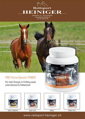 Reitsport Heiniger, Schönbühl - Blogartikel Frey Horse Dynamic Power