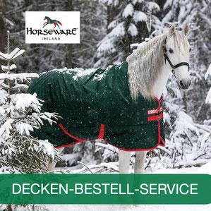 Reitsport Heiniger, Schönbühl - Blogartikel Pferdecke-Bestellservice