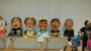 Comparsa de la Jota año 2013 (Forana, Quijote, Popeye, Lobo y Bruja)