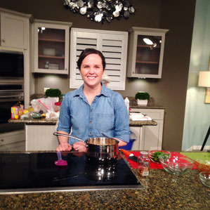 Celebrating National Soup Month  with a cooking segment on Great Day SA!