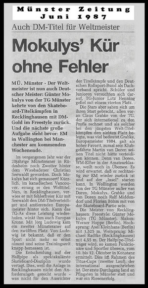 Münster Zeitung 1987