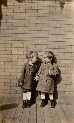 Jay R. ZARFOS & James B. SECHRIST circa 1920