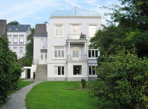 Schöne Kapitänsvilla in Flensburg Jürgensby