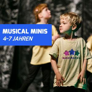 Kindertanz, musikalische Früherziehung, Tanzkurs für Kinder, Schauspiel für Kinder