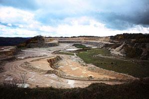 Für die geplante Süderweiterung des Plettenberg-Steinbruchs muss Holcim noch einige Unterlagen liefern. Die vom Landratsamt dafür gesetzte Frist läuft zum Jahreswechsel ab.      Foto: Maier