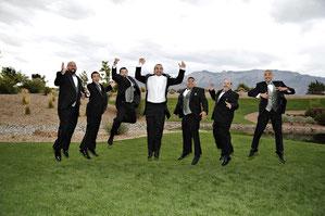 Groomsmen, Hochzeit, Trauzeugen