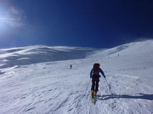 Skitour, Skihochtour, Wallis, Schweiz, Strahlhorn