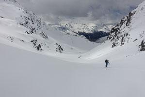 doldenhorn, Skitour, Skihochtour, Kandersteg, Tagestour, Couloir, Doldenstock, Doldenstock Nordfuss