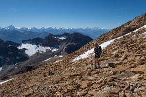 Ferdenrothorn, Nordgrat, Normalweg, Balmhorn, Gitzifurggu, Lötschenpass, Lötschenpasshütte