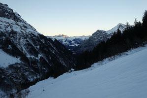 Skitour, Chli Spannort, Krönten, Kröntenhütte, Winter