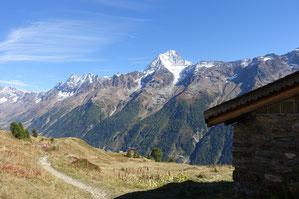 Ferdenrothorn, Nordgrat, Balmhorn, Gitzifurggu, Bietschhorn, Kummenalp, Lötschenpass, Lötschenpasshütte
