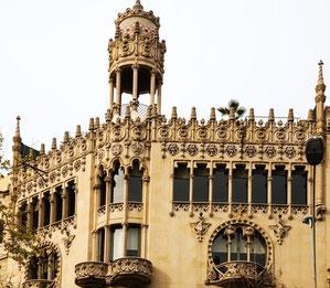 экскурсия по объектам модерна в Барселоне