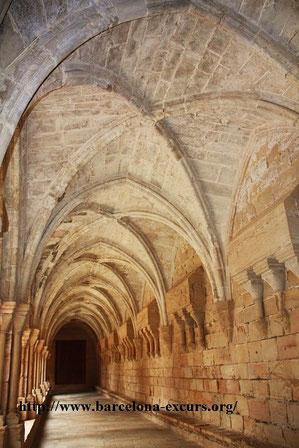 Монастырь Поблет - клуатр