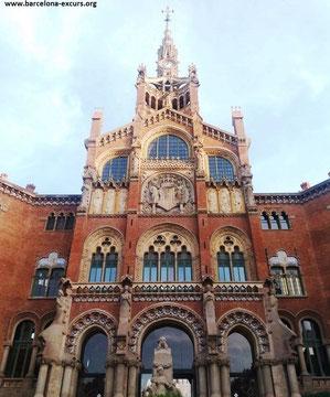 экскурсия по Барселоне эпохи модерн