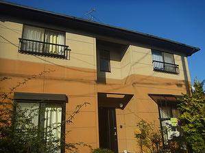 熊本市M様邸外壁塗装前です。BEFORE