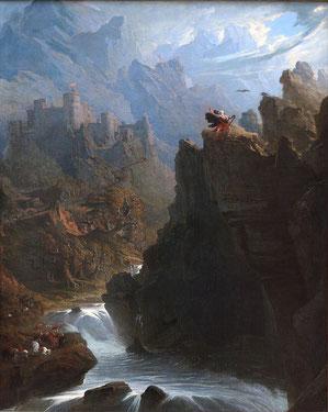 El Bardo, obra de John Martin.