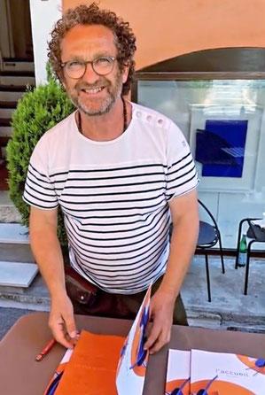 René Galassi au travail. René Galassi en galerie. Nice, Cannes , Biot