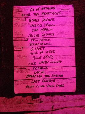 Setlist von Darkhaus, 20. Oktober 2016