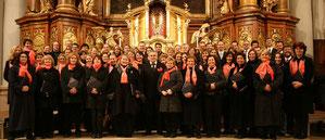 Collegium Vocale Linz unter der Leitung von Josef Habringer