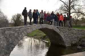 Photo de groupe randonnée du 10 décembre 2019 - anocr34.fr