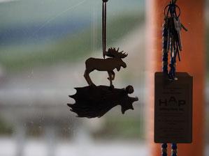Moose als leuke decoratie