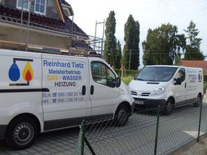 Reinhard Tietz - Sanitär und Heizungstechnik - Firmenfahrtzeuge