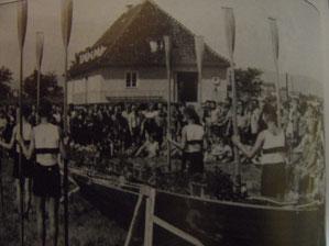 Bootstaufe von Weser I 1953