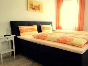 Vierbettzimmer, Appartement für 2-4 Personen