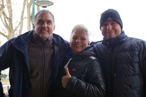 v.l. Michael Sauer, Sybille Petz, Ingo Schürmann