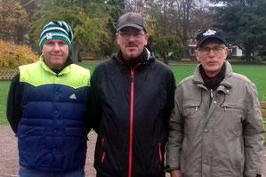 v.l. Ingo Schürmann, Cord Schulz, Walter Schneider