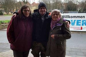 v.l. Monika Rudoll, Uwe Seelaff, Luzie Hildebrandt