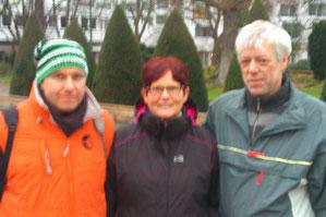 v.l. Ingo Schürmann, Gisela Dresler, Gerd Hahlbrock