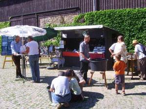 Der Stand des Bergbau- Traditionsverein Hohwald e.V.