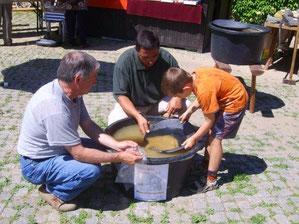 Goldwaschen für Kinder