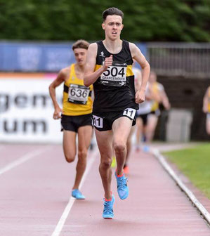 Kane Elliott wins Scottish 1500 (photo copyright Bobby Gavin)