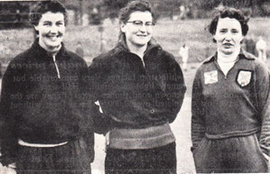 Scotland's 3 contestants in the women's discus - Diana Will (8th), Rosemary Charters (10th) and Toni Ireland (11th). Charters won gold in the event 12 years later as Rosemary Payne and competed for Scotland in 4 Commonwealth Games.