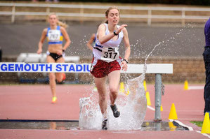Steeplechase champion Lauren Stoddart (in at number 98), photo by Bobby Gavin