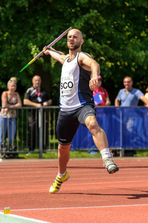 James in action at Loughborough in 2014. Photo by Bobby Gavin.